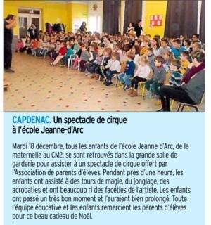 Capdenac – Ecole Jeanne-d'Arc