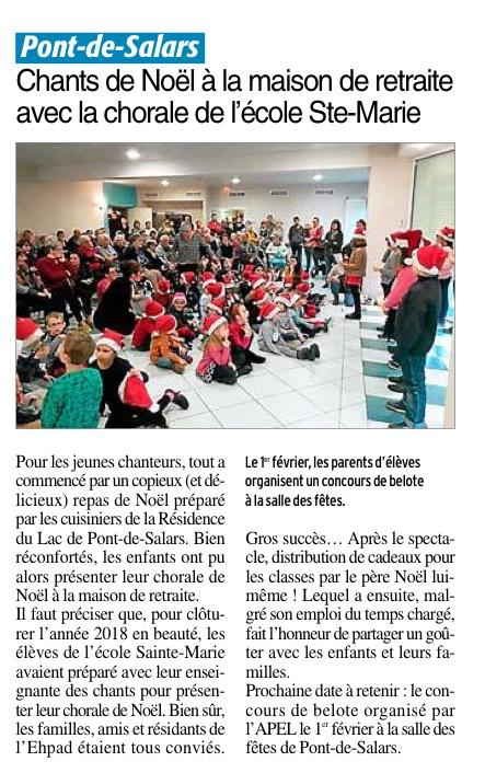 Pont-de-Salars – Ecole Sainte-Marie