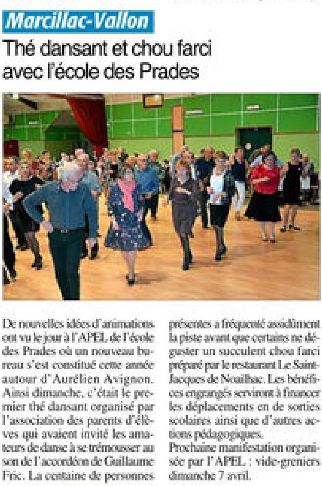 Marcillac-Vallon – Ecole des Prades
