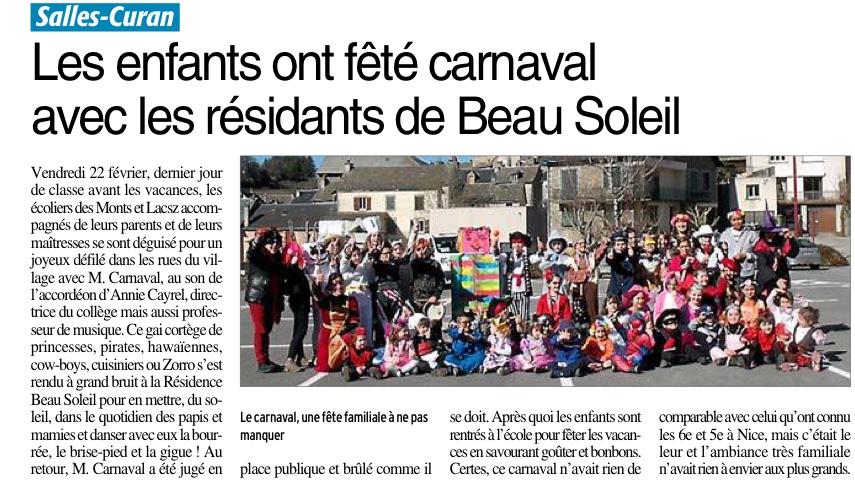 Pont-de-Salars – Ecole Sainte Marie