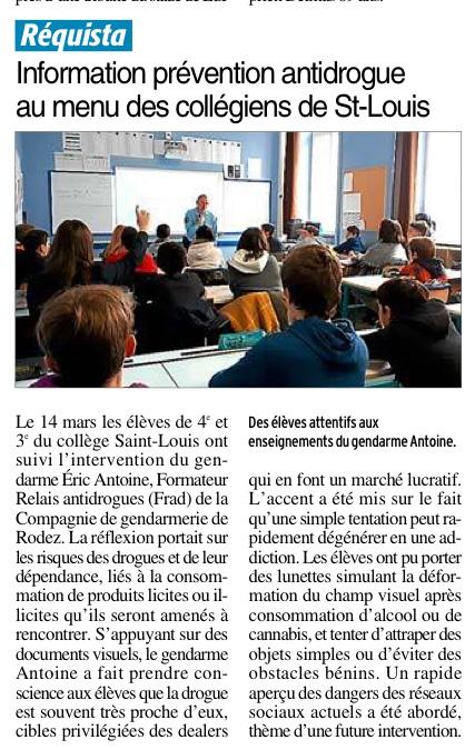Réquista – Collège Saint-Louis
