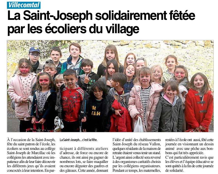 Villecomtal – Ecole Saint Joseph