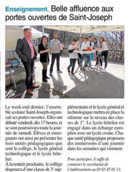 Villefranche-de-Rouergue – Ensemble scolaire St Joseph