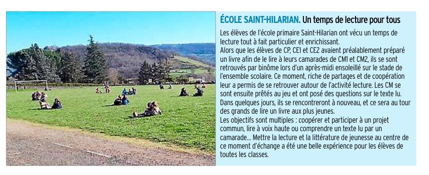 Espalion – Ecole Saint Hilarian