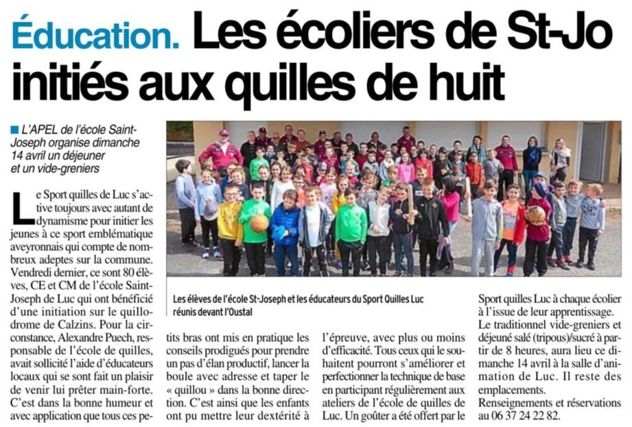 Luc – Ecole Saint Joseph