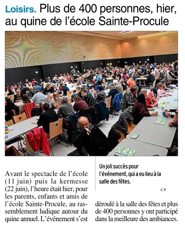 Rodez -Ecole Sainte Procule