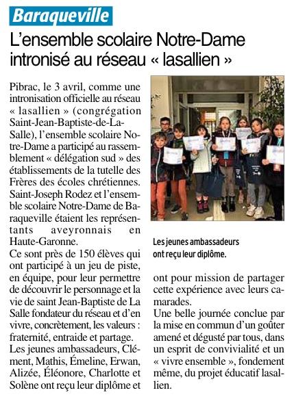 Baraqueville – Ensemble scolaire Notre Dame