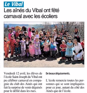 Le Vibal – Ecole Saint Joseph