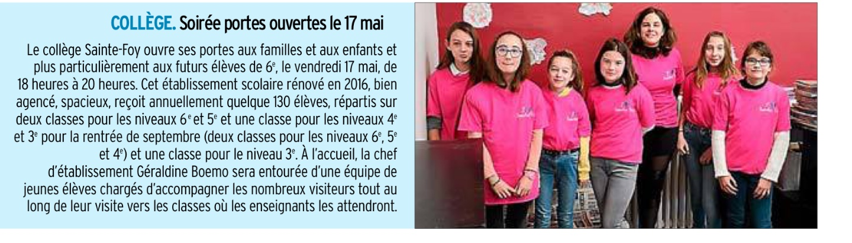 Decazeville – Collège Ste Foy