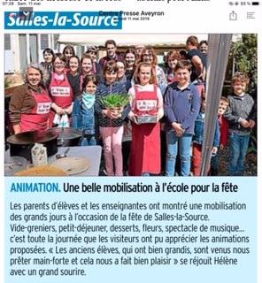 Salles-la-Source – Ecole Saint Joseph