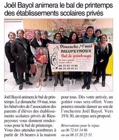 Rieupeyroux – Ensemble scolaire