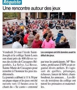 Réquista – Ecole Saint-Joseph