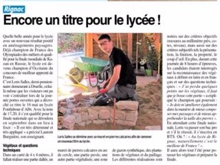 Rignac – Lycée agricole