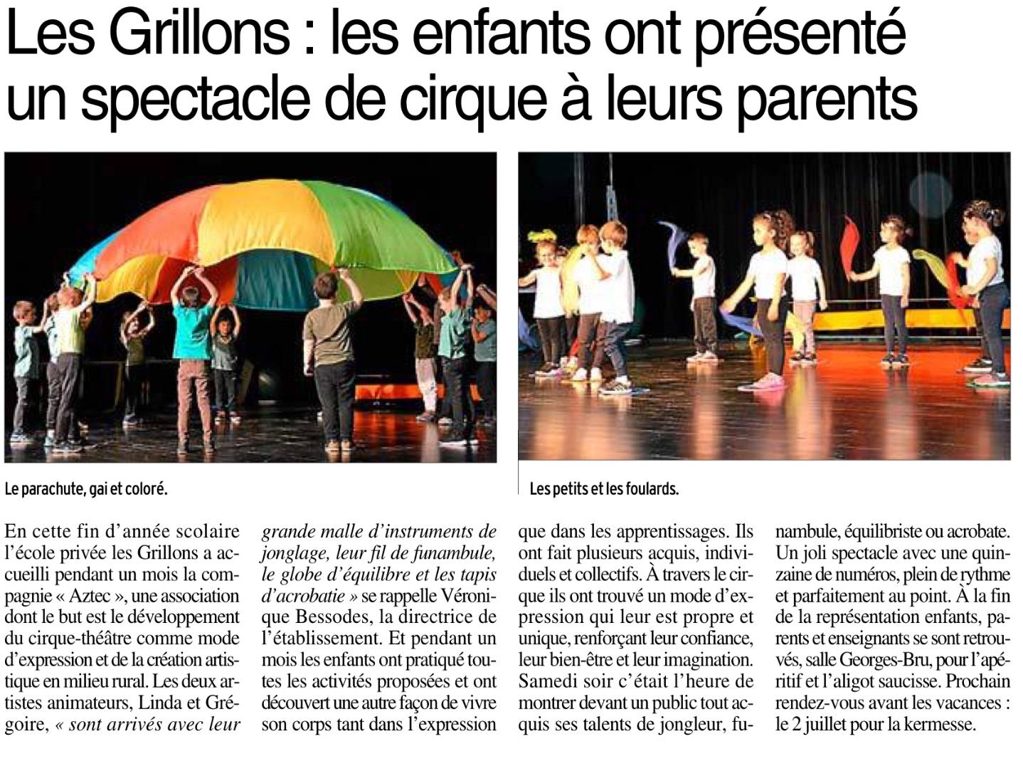 Olemps – Ecole Les Grillons