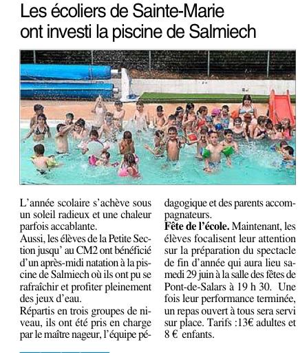 Pont-de-Salars – Ecole Saint Marie