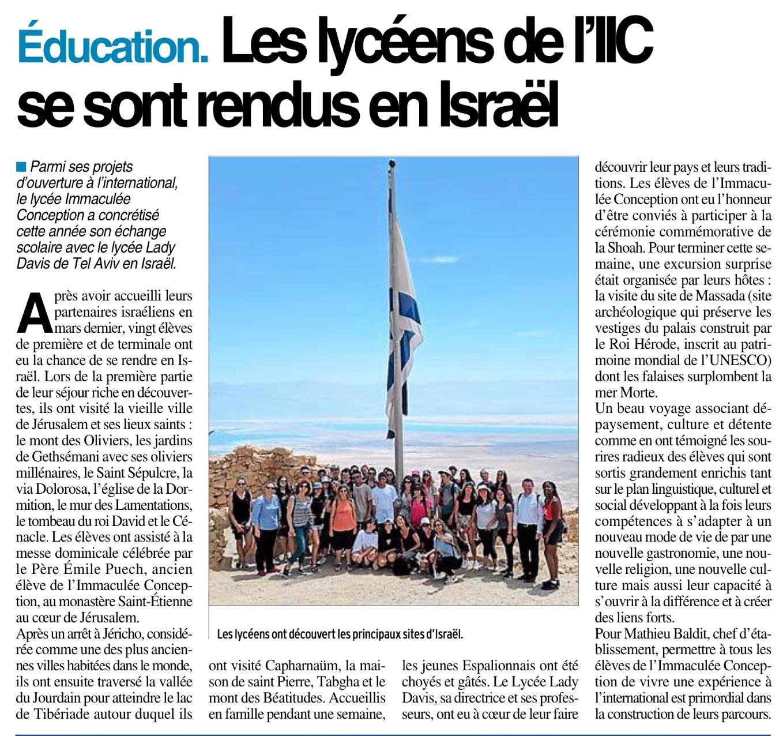 Espalion – Lycée Immaculée-Conception
