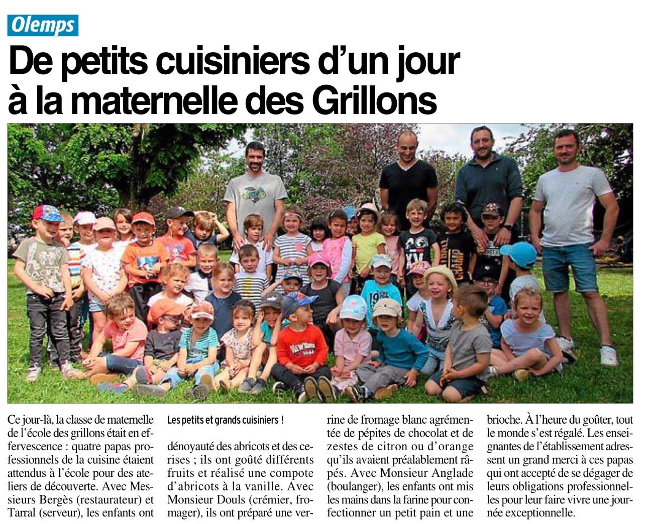 Olemps -Ecole Les Grillons