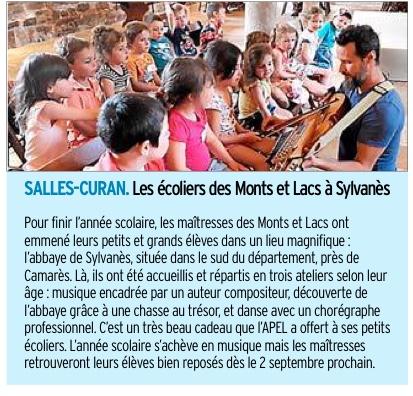 Salles-Curan – Ecole des Monts et des Lacs