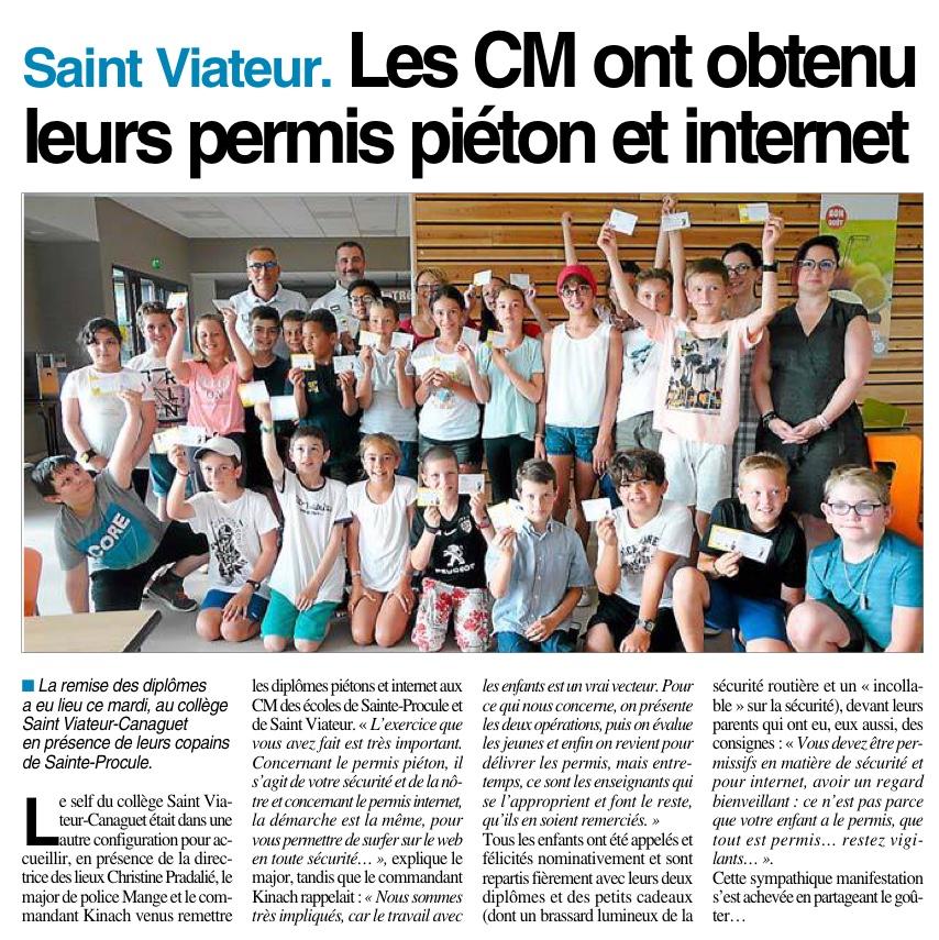 Onet le château – Ecole St Viateur – Rodez – Ecole Ste Procule