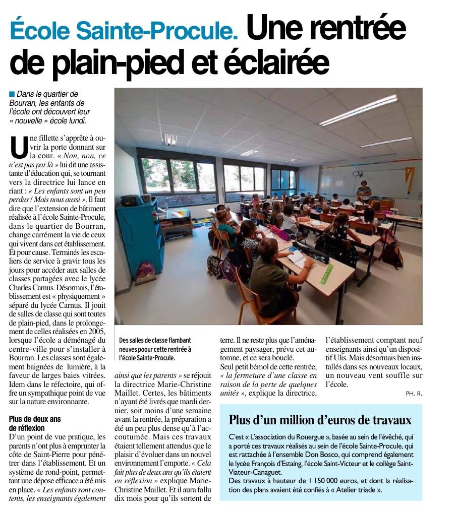Rodez – Ecole Sainte Procule