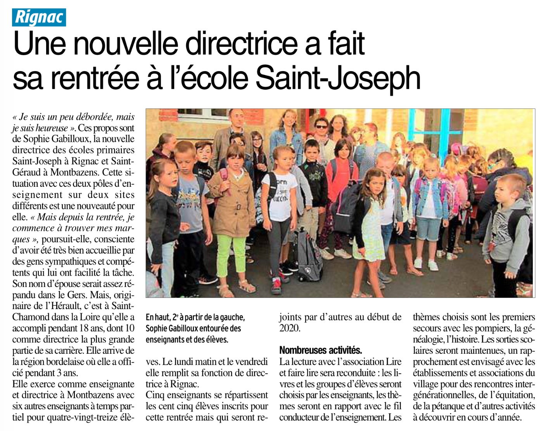 Rignac – Ecole Saint Joseph