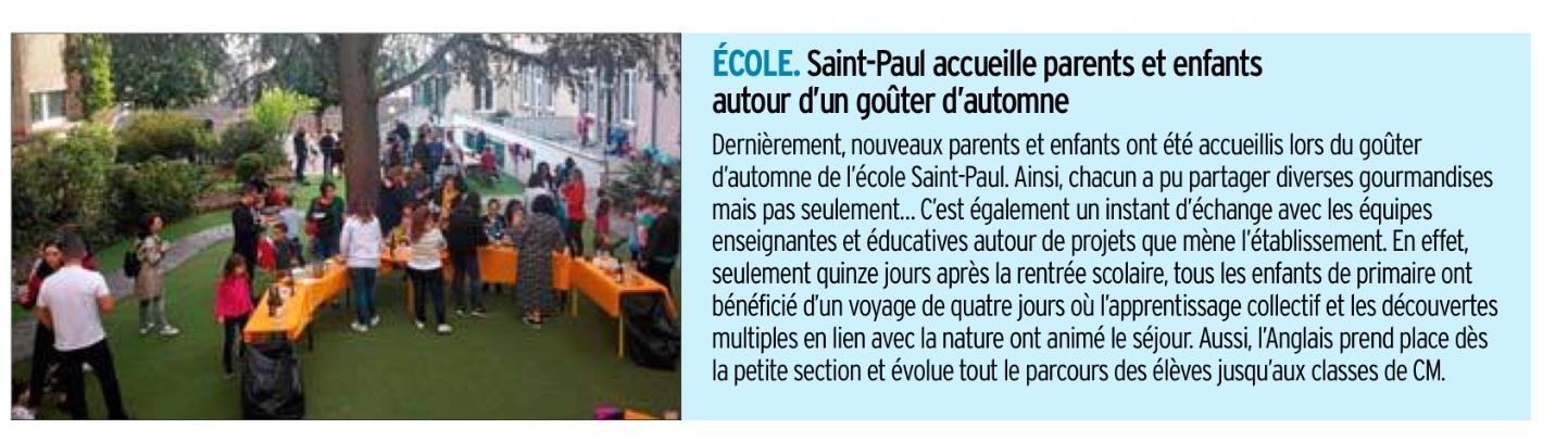 Rodez – Ecole St Paul