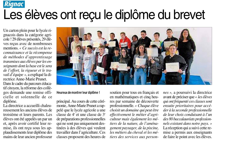 Rignac – Collège Jeanne d'Arc