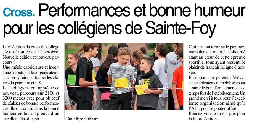 Decazeville – Collège Sainte foy