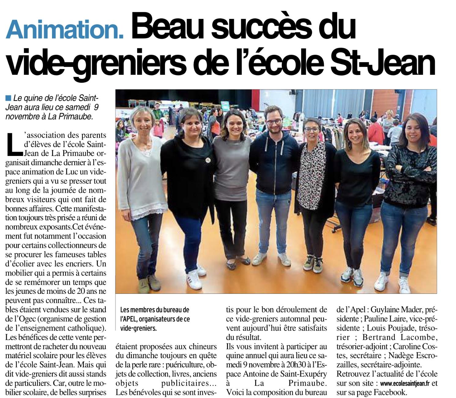 La Primaube – Ecole Saint Jean