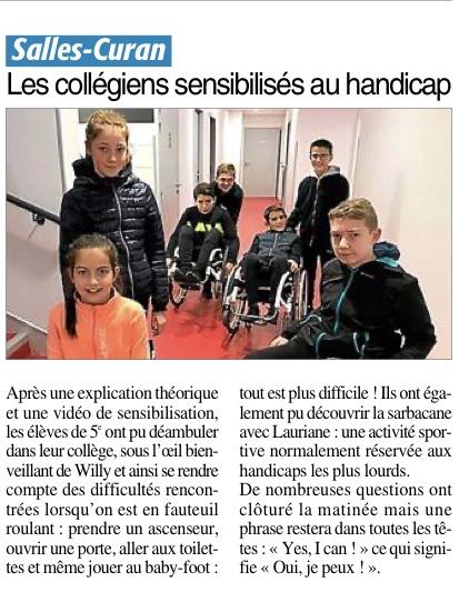 Salles-Curan – Collège des Monts-et-Lacs