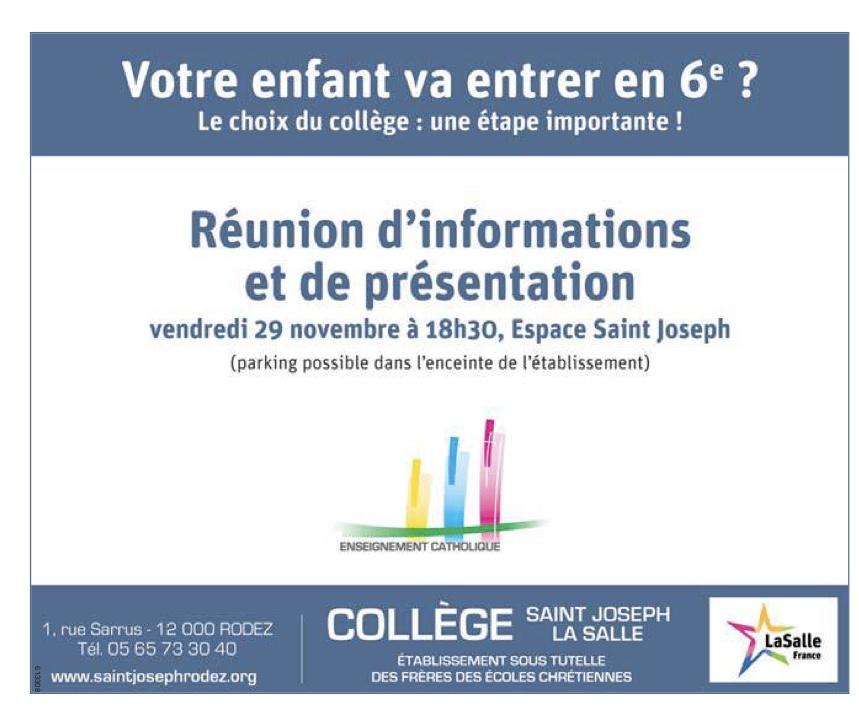 Rodez – Collège Saint Joseph-La Salle