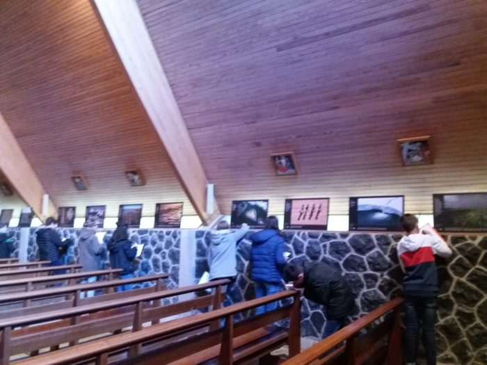 Laguiole - St Matthieu - expo Yann Arthus-Bertrand