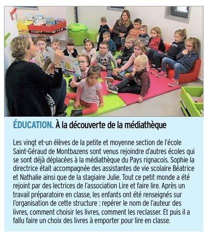 Montbazens – Ecole Saint Géraud