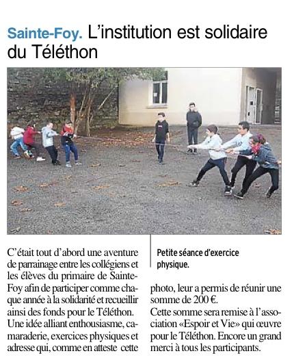 Decazeville – Ensemble scolaire Sainte Foy