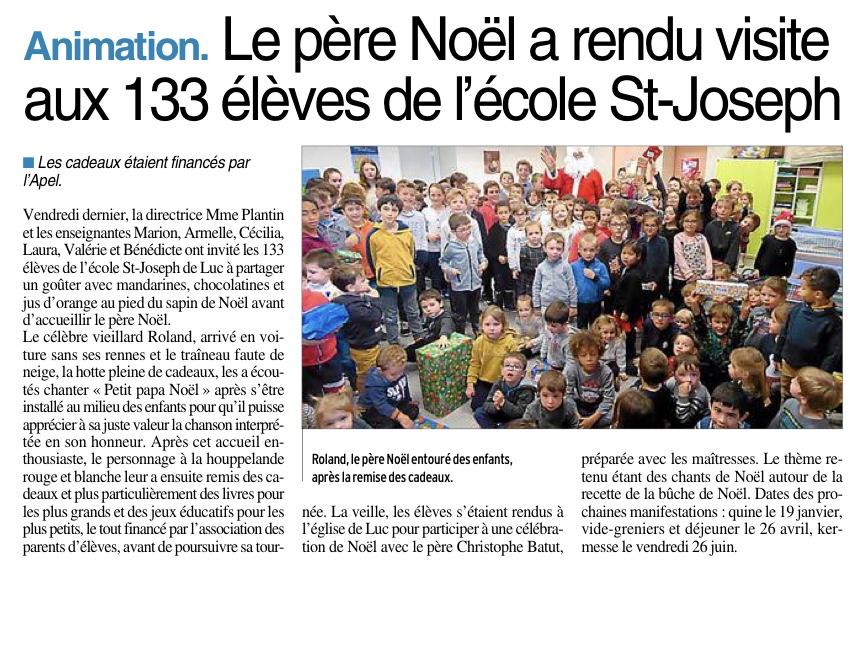 Luc – Ecole Saint-Joseph