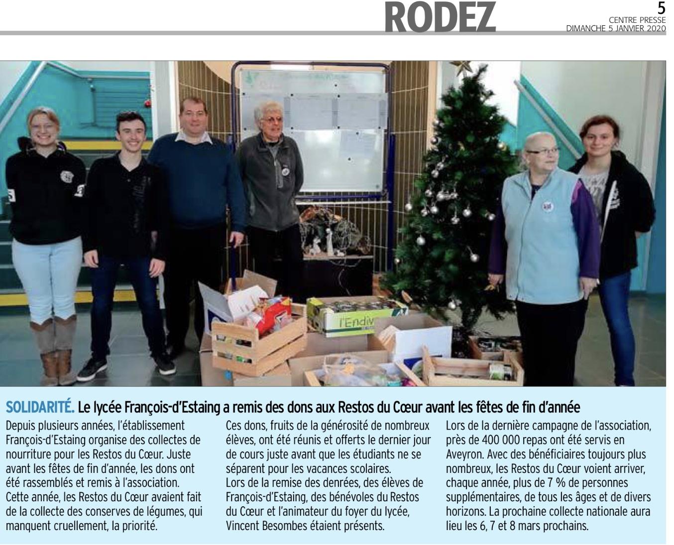 Rodez – Lycée François d'Estaing