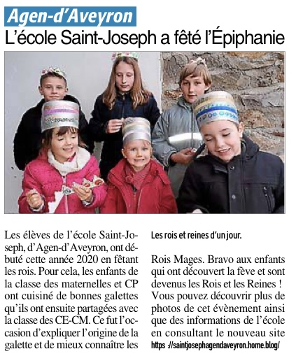 Agen d'Aveyron – Ecole Saint Joseph