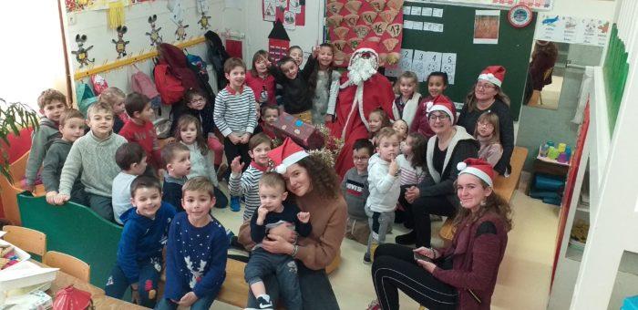 Laguiole - Ecole St Matthieu - Noël 2019