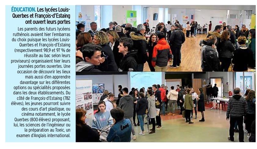 Rodez – Lycées Querbes et François-d'Estaing