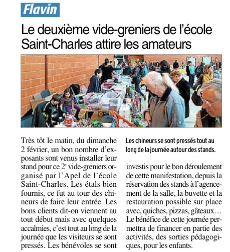 Flavin -Ecole Saint-Charles