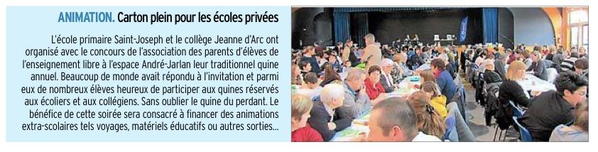 Rignac – Collège Jeanne d'Arc et Ecole Saint Joseph