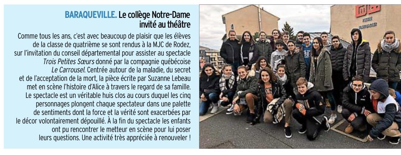 Baraqueville – Collège Notre-Dame