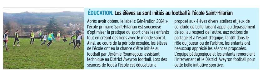 Espalion – École Saint Hilarian