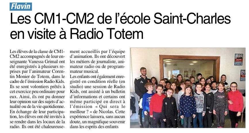 Flavin – École Saint Charles