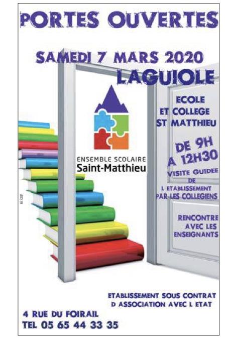 Laguiole – Ensemble scolaire saint Matthieu