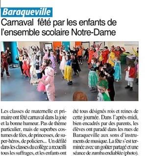 Baraqueville – Ensemble scolaire Notre-Dame