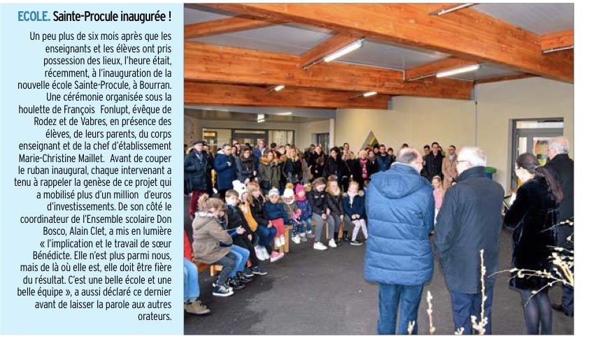 Rodez – École Sainte Procule
