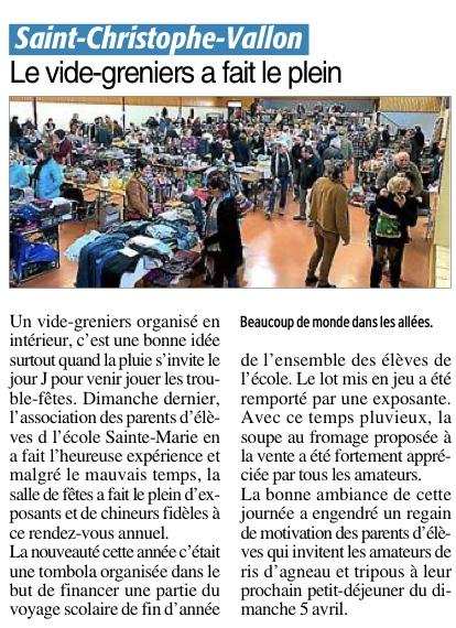 Saint-Christophe-Vallon – École Sainte Marie des Prés