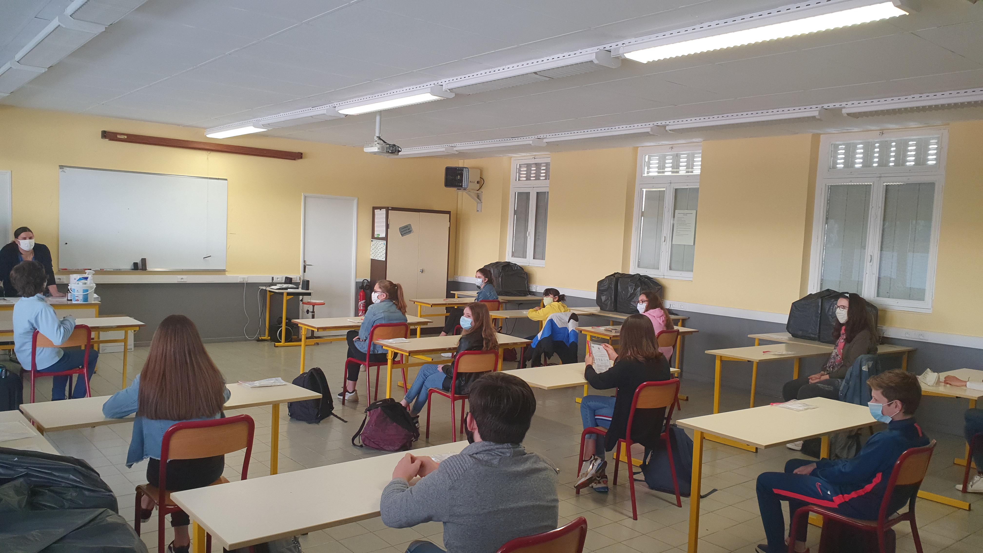 18-05-2020 - Collège St Louis Capdenac - Retour en classe