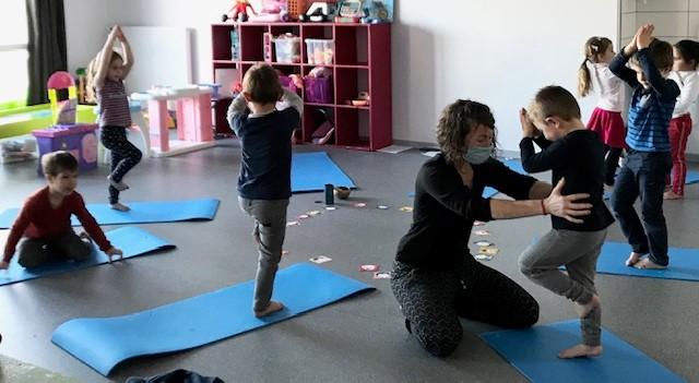 Salles-Curan - Ecole des Monts et Lacs - Yoga 2020